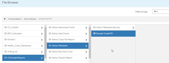 report create